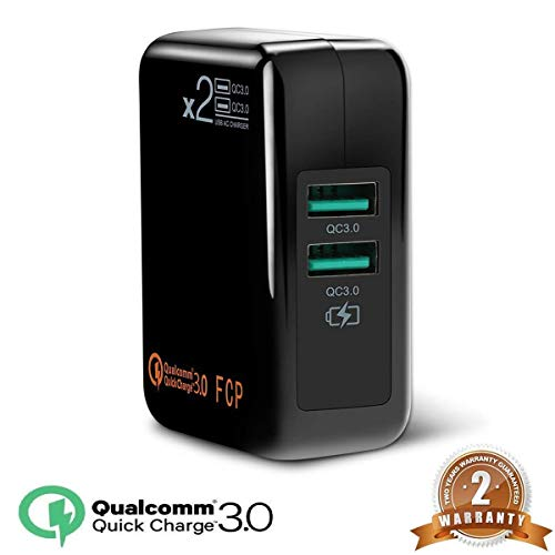 Dual Quick Charge3.0 USB Wall Charger,Travel Fast Charger for sale  Delivered anywhere in Canada