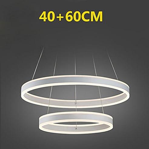 ASL LED Kronleuchter Multi-Ring Glanz Kronleuchter Minimalist ...