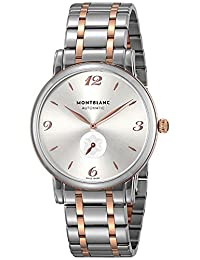 Montblanc STAR silver dial plate Men watch 107916