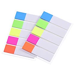 Outus Index Flags Tabs Sticky Note For Page Marker, 2 Sheets, 200 Pieces