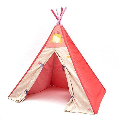 Spielzelt Kinderzimmer | Labebe Kinder Zelt Tipi Indianerzelt Spieltipi Spielzelt Furs