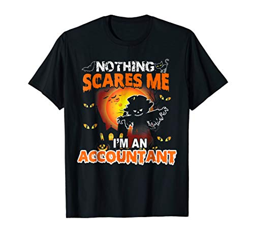 Accountant Halloween Costume Funny Shirt For Women Men]()