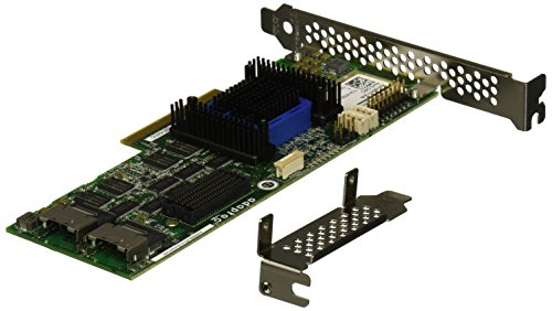 6805 Single Raid 0/1/10 Sata 512MB Pcie 3.3/12V MD2/LP No Cable by Adaptec