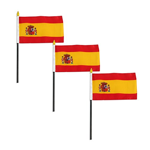 - Online Stores Spain Flag 4 x 6 inch - 3 PK