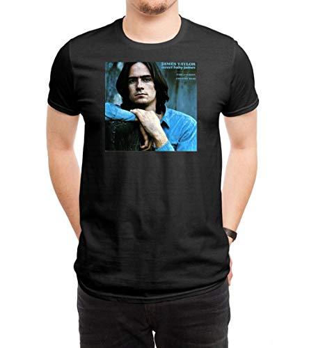 GAOWEIZHI Men's JA MES Casual Slim Short Sleeve Tee Shirt