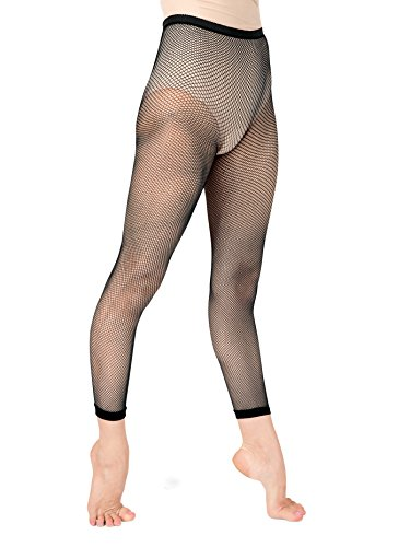 Adult Basic Capri Fishnet Tights,T5800BLKSM,Black,SM
