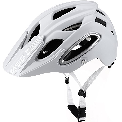 BASE CAMP NEO Mountain Bike Helmet (Matte White)