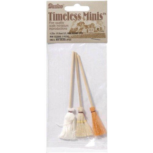 Timeless Minatures-Mops & Brooms 3/Pkg
