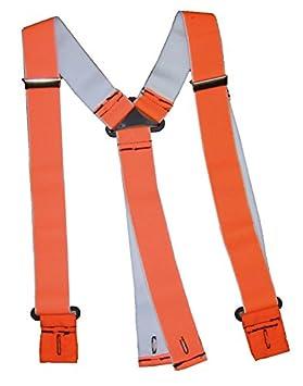 Solidur - Bretelles À Bouton Pour Pantalon Forestier - Orange ... 7b6362129bd0