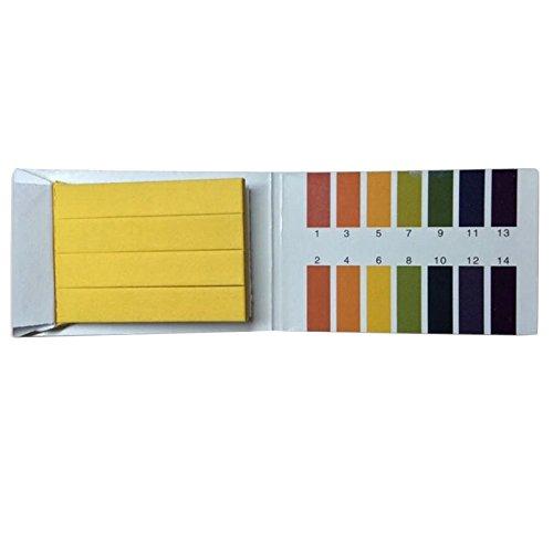 Godagoda 80 Strips PH 1-14 Test Strips Litmus Tester Paper, Universal Application for Saliva Urine Water Soil Testing