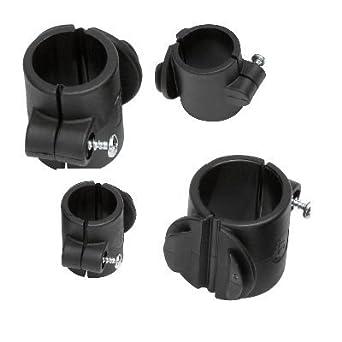 Activera Toolflex - Set de abrazaderas de tubo para sillas de ruedas, carros de limpieza