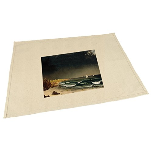 Style in Print Approaching Storm Newport (Mj Heade) Cotton Canvas Placemat Table Mat ()
