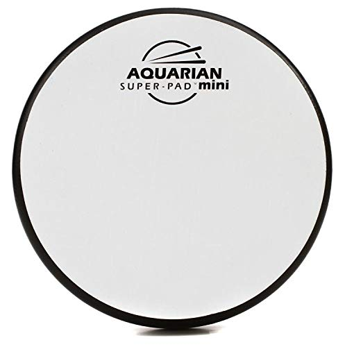 Aquarian Drumheads Super-Pad Low-Volume Drum Surface - 6 Inches