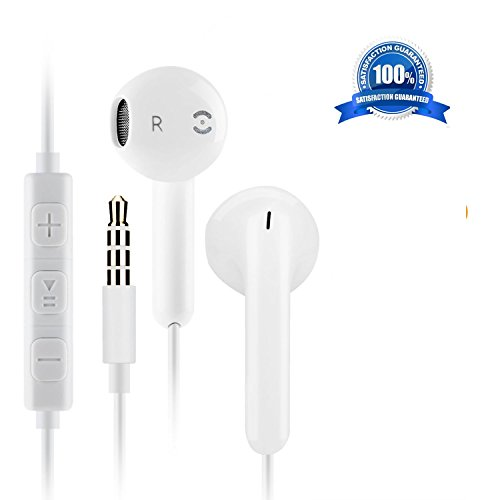 Earbuds, Tatamo iPhone Headphones with Microphone Stereo Earphones With Mic and Remote Earbuds for apple iPhone 6s 6 Plus 5s 5 5c 4s 4 SE S8 S7 S6 IOS 7 8 X 10 iPad 1 2 3 earpods earphones