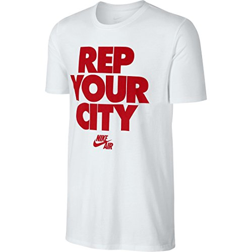 Homme Homme T T T Rep shirt Rouge City Tee Pour Your Multicolore Blanc university Nike white Red white H0nwxqq