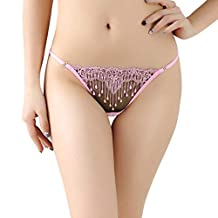 HTHJSCO Womens Lace Soft Hipster Panties Brief Underwear