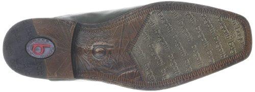Bugatti U25041 U25041 - Zapatos de cordones de napa para hombre Negro