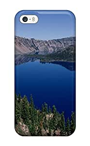 Snap On Crater Lake Oregon Case Cover Skin Compatible With Iphone 5/5s