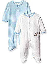 Baby 2 Pack Footies