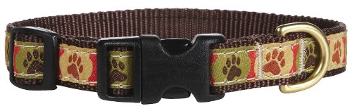 Up Country Pawprints Collar - Medium