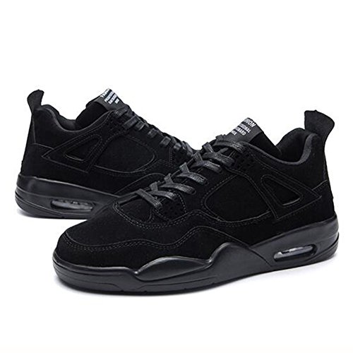Men's Shoes Feifei Spring and Autumn Leisure Heighten Air Cushion Sports Shoes 4 Colors (Color : 04, Size : EU42/UK8.5/CN43)