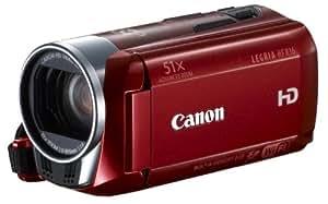 Canon LEGRIA HF R36 Red VUK - Videocámara HD, color rojo