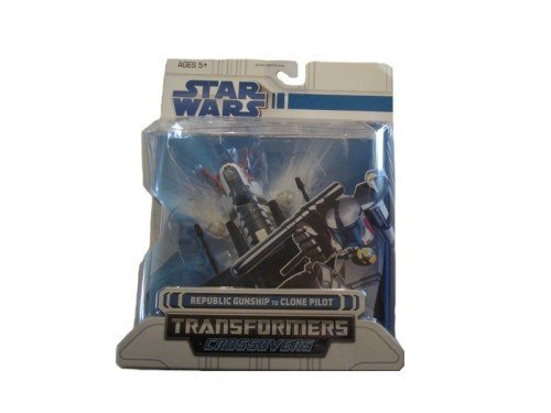 - Hasbro Star Wars Transformers Crossovers Slave 1 to Boba Fett Figure