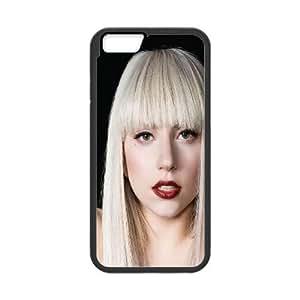 iPhone 6 4.7 Inch Cell Phone Case Black hb57 lady gaga pose music VIU920426