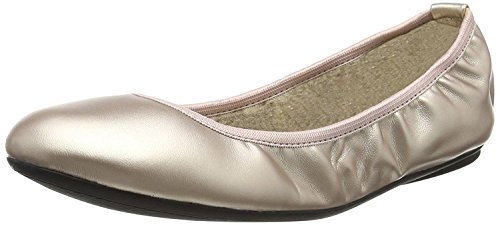 Butterfly Twists Sophia Rose Gold Femmes Ballerine Flats Chaussures