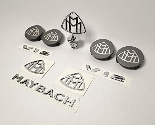 MAYBACH style Hood Ornament Emblem Badge Mercedes Benz S-Class W222 S600 S500