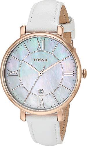 Fossil Women's Jacqueline - ES4579 White One Size ()