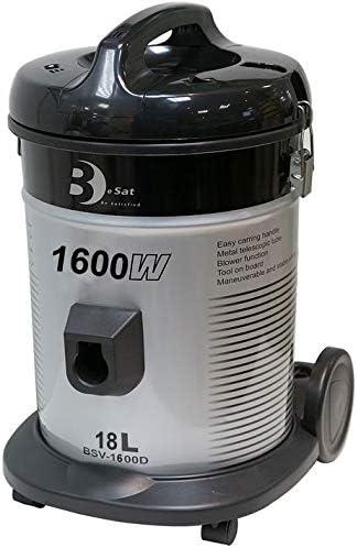 BeSat BSV1600D Drum Vacuum Cleaner 18L