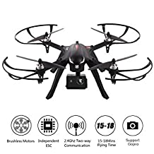 MJX Bugs 3 UAV Quadcopter Drone Aircraft RC RTF 6-Axis Gyro Brushless Motor with 4K Wifi Remote Control Sports Action Camera 3D VR Goggles