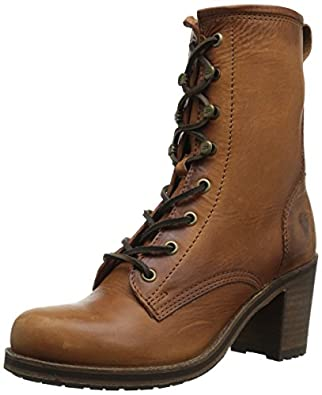 Amazon.com | FRYE Women's Karen Lace-Up Short Combat Boot | Ankle ...