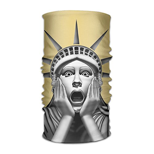 Magic Headwear Funny Statue Of Liberty Outdoor Scarf Headbands Bandana Mask Neck Gaiter Head Wrap Mask Sweatband ()