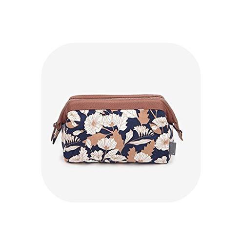 New Arrive Flamingo Cosmetic Bag Women Necessaire Make Up Bag Travel Waterproof Portable Makeup Bag Toiletry Kits High Capacity,Coffee