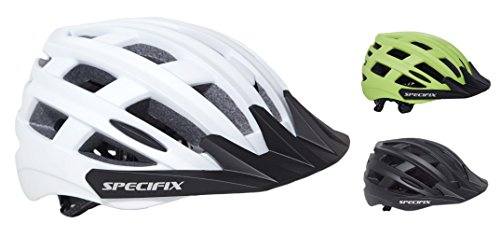 Specifix Cycling Bicycle CPSC Certified Adjustable Bike Safety Adult Helmet with Detachable Visor - Great for Road and Mountain Biking - MTB - Provides an Excellent fit for Both Men and Women.