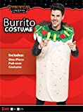 Men Burrito Costume Adult Deluxe Set Halloween Dress Up Party