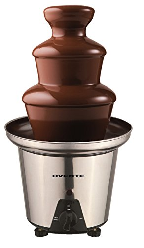 Ovente Chocolate Fountain Stainless CFS53S product image