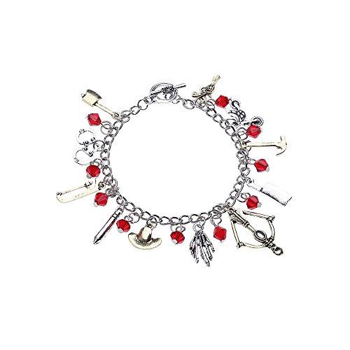 LUREME Vintage Themed Charm Bracelet Cosplay Jewelry (bl003118)