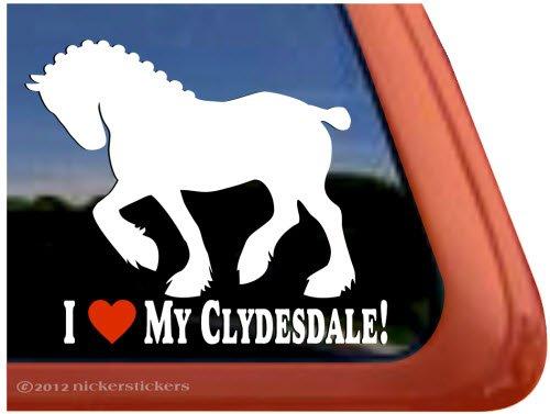 Clydesdale Sticker - 1
