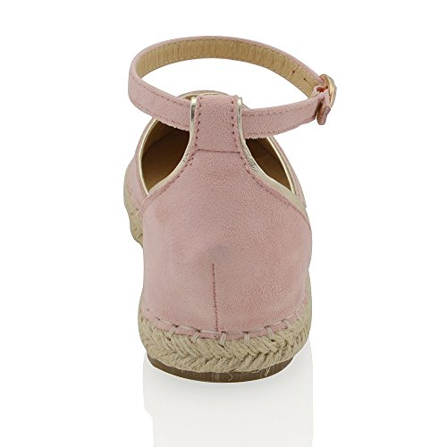 Sandalo Esprilo Sintetico Casual Da Donna Alla Caviglia Con Cinturino Alla Caviglia
