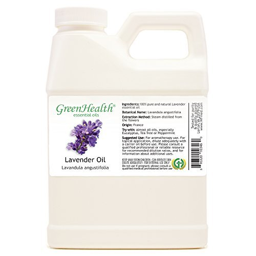 GreenHealth - Lavender 100% Pure Essential Oil - 16 fl -