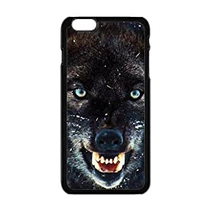 Happy The Wolf Cell Phone Case for Iphone 6 Plus