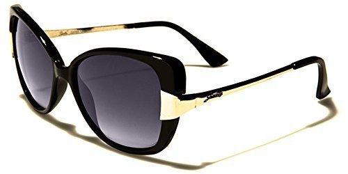 Lunettes verres de noir doeil élégant chat OR GRATUIT femmes inclus noir soleil poche Vintage beachhutsunglasses Giselle pqAFwXy