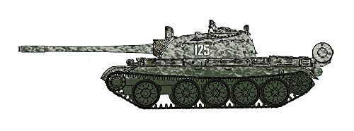 Hobbymaster T-55 Medium Tank, Soviet Army, Winter Military Exercise, 1970