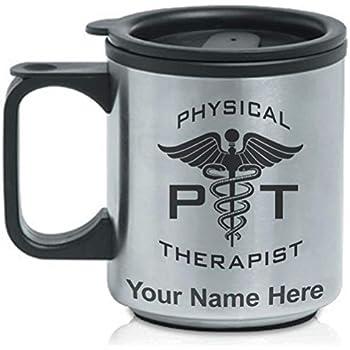 Amazon.com: Taza de viaje Commuter – Pt fisioterapeuta ...