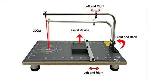 Foam Cutting Machine Wire Foam Cutter Foam Cutting Machine Table 110V 3878cm for Cutting Form 30w