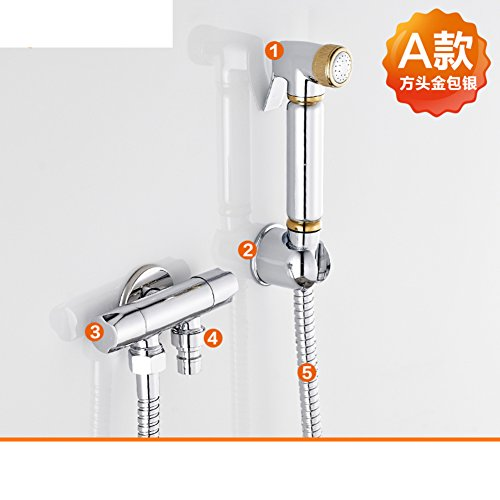 Full copper wash bidet bidet/Bidet/Toilet booster nozzle gun-A new