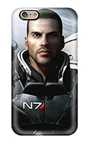 Faddish Phone Mass Effect 3 Case For Iphone 6 / Perfect Case Cover